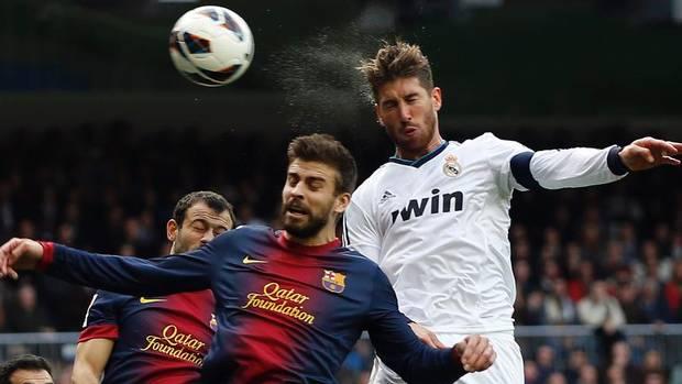 Ramos và Pique đều có thể mang tới những rủi ro cho Real Madrid và Barcelona.