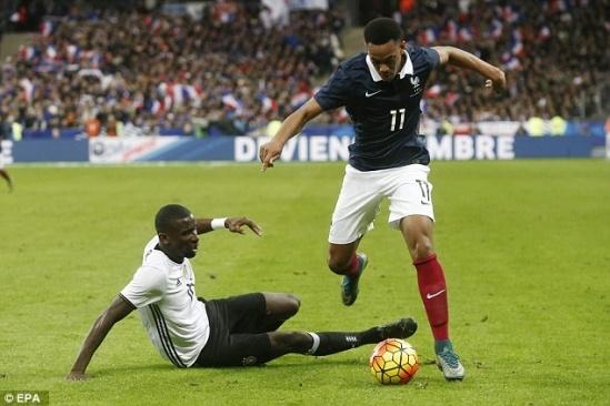 Martial thi đấu cực kỳ ấn tượng trong trận giao hữu với Đức