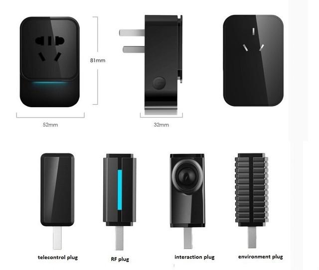 Các phụ kiện đi kèm với Smart Plug K2