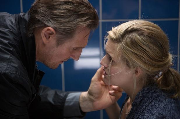 Bryan Mills và cô con gái Kim trong phim Taken 3 (Ảnh: Guardian)