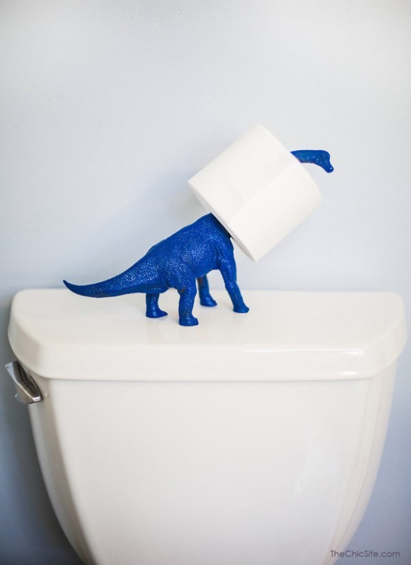 Vật dụng để giấy vệ sinh độc nhất vô nhị.