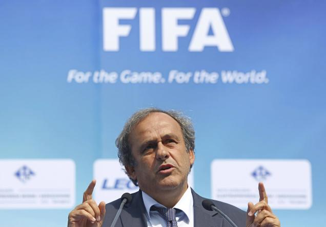 Ông Michel Platini được xem là ứng viên nặng ký nhất cho chức chủ tịch FIFA