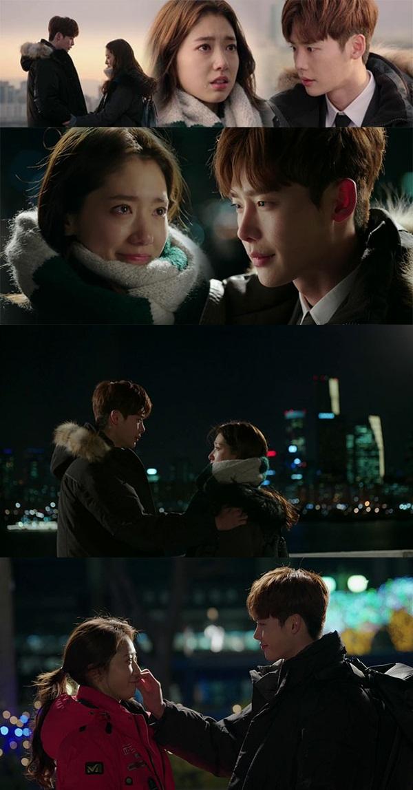 Cặp đôi Park Shin Hye và Lee Jong Suk.