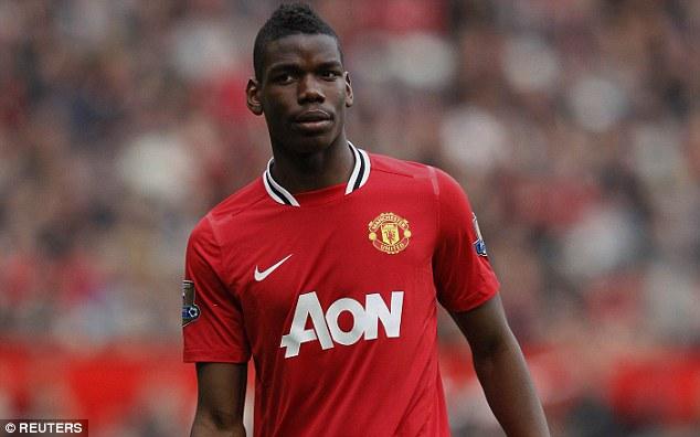 Pogba từng khoác áo Man Utd trước khi chuyển sang Juve và trở thành ngôi sao được săn đón nhất.