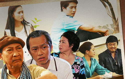 Một số diễn viên chính tham gia phim Câu chuyện tình đời.