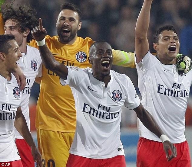 Trước đó, PSG đã có trận thắng 2-1 trước Montpellier.