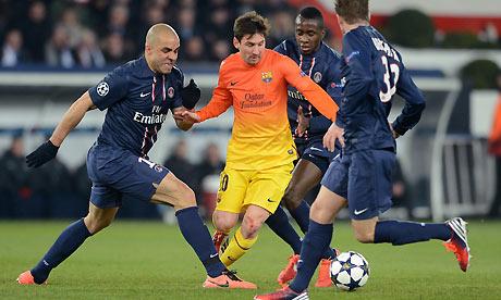 Messi và các đồng đội liệu có phá sập thánh địa của PSG?