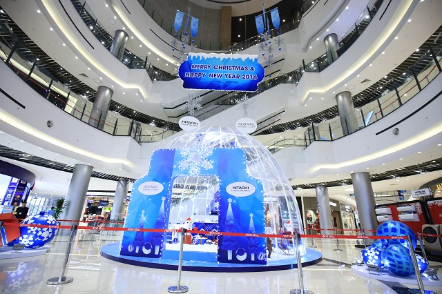 Nhiều không gian vui chơi dành cho trẻ nhỏ giúp các bậc phụ huynh thoải mái tham quan tại AEON Mall Long Biên