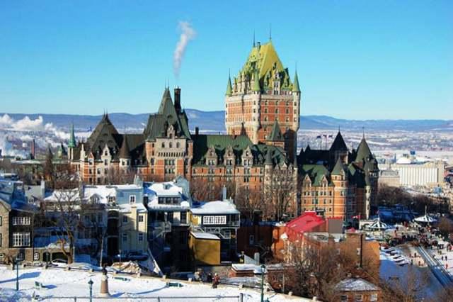Thành phố Quebec, Canada. (Ảnh: Lonely Planet)