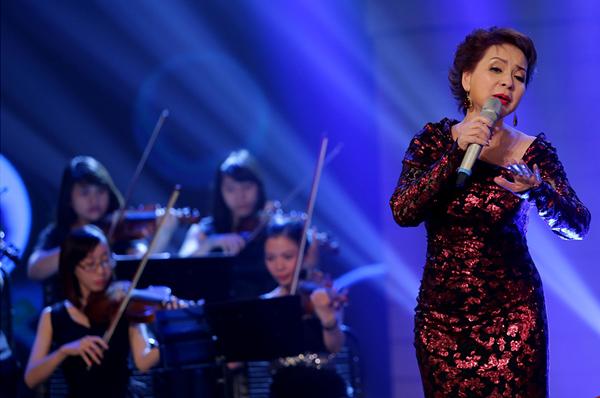 Ở chương trình lần này, Ái Vân đã trở về Việt Nam từ Đức để thể hiện ca khúc Ru con mùa đông.