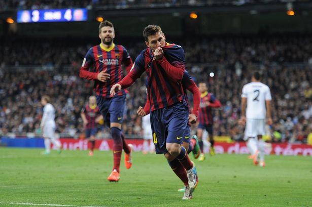 Lionel Messi là nỗi ác mộng của Real Madrid trong các trận El Clasico