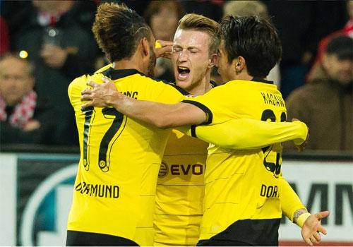 Marco Reus đang là niềm cảm hứng của Dortmund trong thời gian gần đây