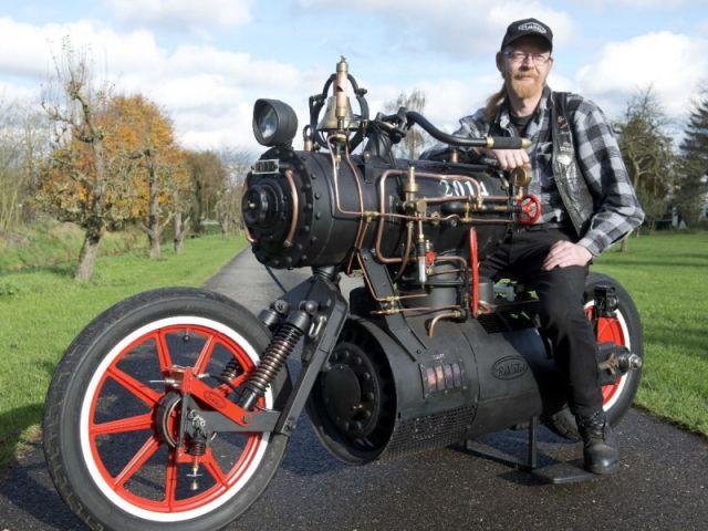 Marc Quinlivan - một trong những người góp phần chế tạo nên chiếc Black Pearl