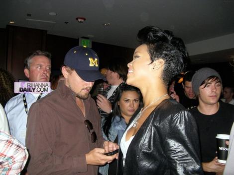 Leonardo và Rihanna thường xuyên đi cùng nhau.