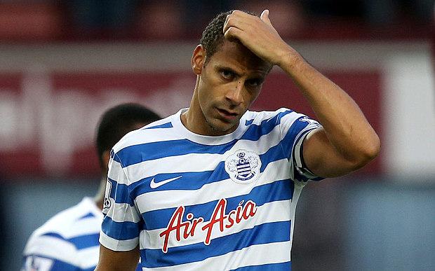 Rio Ferdinand giải nghệ sau khi QPR từ chối gia hạn hợp đồng