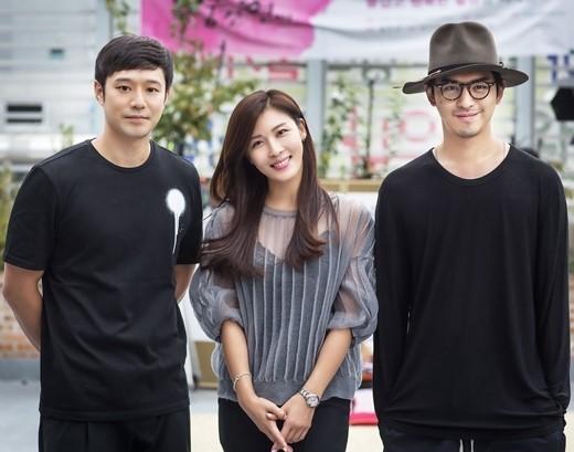 Ba diễn viên của phim: Chung Jung Myung, Ha Ji Won và Bolin Chen