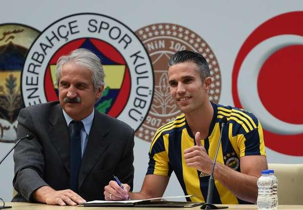 Van Persie sẽ bắt đầu cuộc phiêu lưu mới tại Thổ Nhĩ Kỳ trong màu áo Fenerbahce