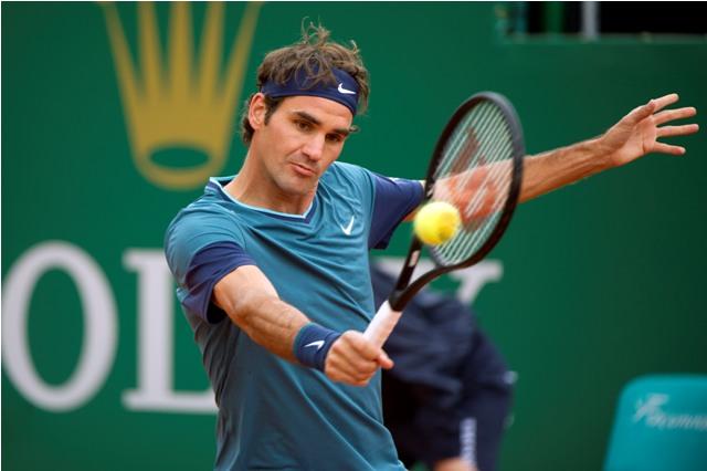 Mất chưa đầy 1 giờ, Roger Federer đã đoạt vé vào vòng 3 Monte Carlo Masters