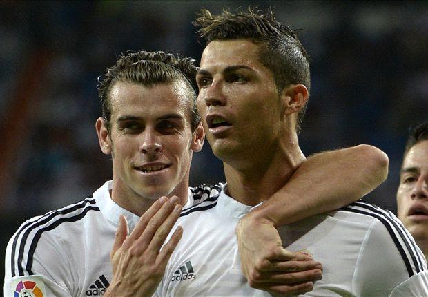 Ronaldo và Bale đã sẵn sàng khai hỏa để giúp Real Madrid bỏ cách Barca.