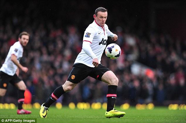Rooney vẫn sẽ là trung tâm trong sơ đồ chiến thuật của Van Gaal.