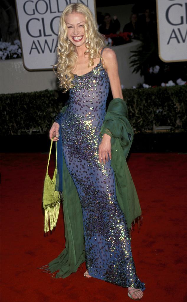 Portia de Rossi - bà xã của MC nổi tiếng Ellen DeGeneres với gu thời trang diêm dúa trên thảm đỏ