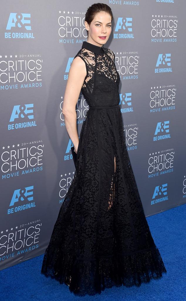 Michelle Monaghan trong bộ váy đen quyến rũ