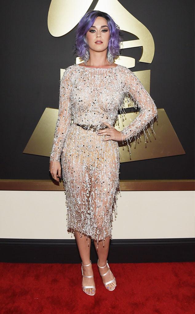 Katy Perry lấp lánh trong bộ váy ngắn của Zuhair Murad