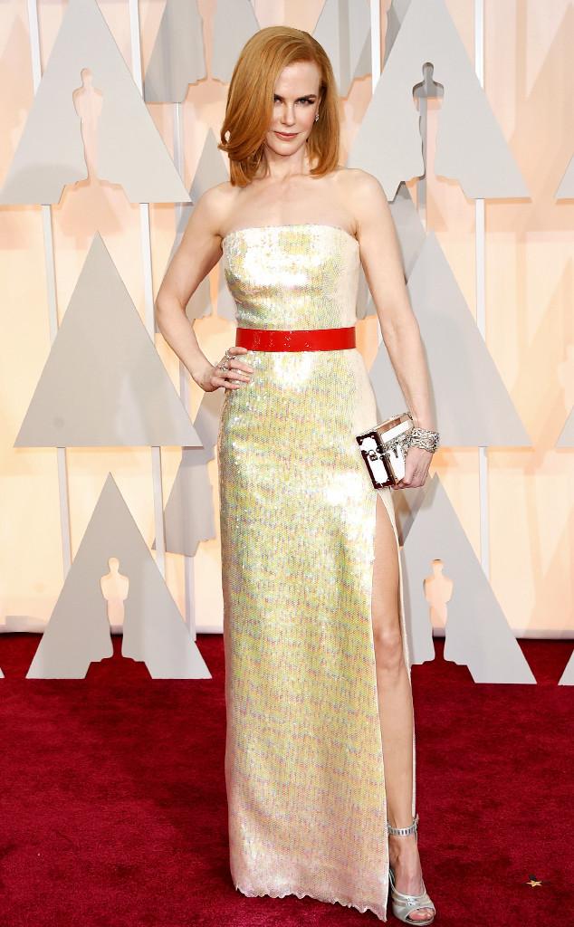 Khó ai tin nổi Nicole Kidman đã 47 tuổi khi nhìn thấy cô xuất hiện trên thảm đỏ trong bộ váy thanh lịch của Louis Vuitton