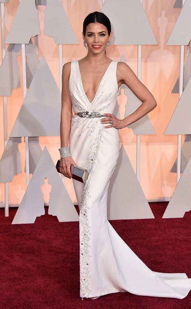 Một tuyệt tác khác của nhà thiết kế tài ba Zuhair Murad cũng được người đẹp Jenna Dewan-Tatum diện tới lễ trao giải Oscar lần thứ 87