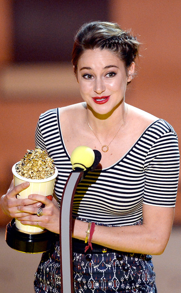 Shailene Woodley hạnh phúc với giải thưởng Nữ diễn viên xuất sắc nhất