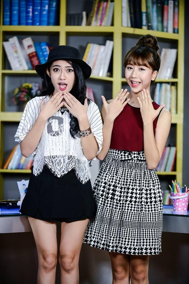 VTV.vn - Sau sự ra đi của hai thành viên Chi Pu và Vân Navy, nhóm 5S Online  đã chào đón hai nữ nhân viên mới là Trang Cherry và Quỳnh Anh ...