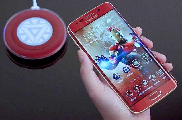 Galaxy S6 Edge Iron Man chỉ được sản xuất 1.000 chiếc trên toàn thế giới. (Ảnh: Zing)