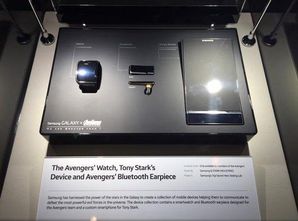 Bộ sản phẩm dành cho các siêu anh hùng Avengers của Samsung