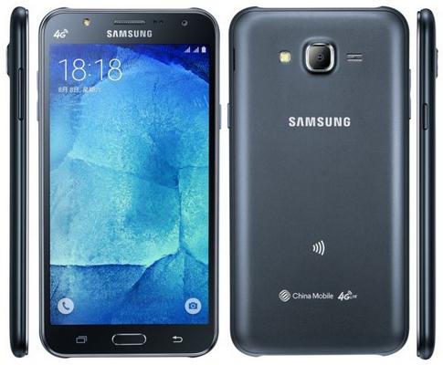 Samsung Galaxy J5 được trang bị đèn LED Flash ở mặt trước