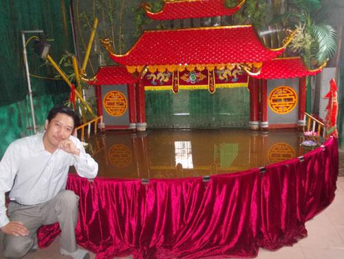 Sân khấu tại gia của nghệ sĩ Phan Thanh Liêm