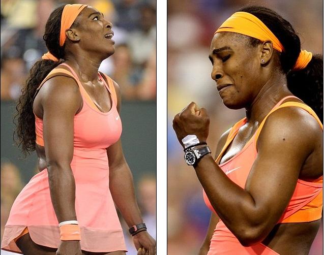 Serena dành tặng chiến thắng đầu tiên ở Indian Wells sau 14 trở lại cho cậu em họ vừa qua đời.
