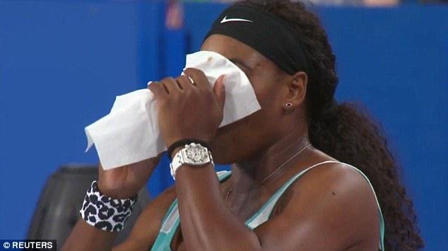 Serena đùa rằng, nhờ ly cafe thần kỳ, cô đã đánh bại được Pennetta sau khi bị dẫn trước ở set 1.