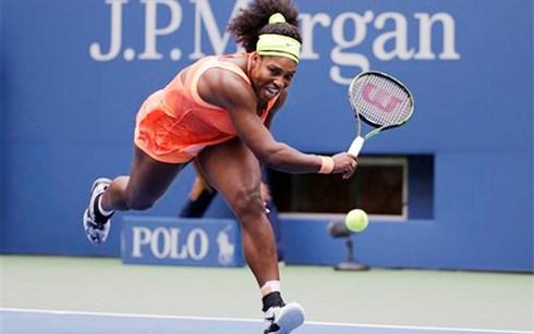 Số trận Serena Williams để thua trong năm 2015 chỉ là 3.