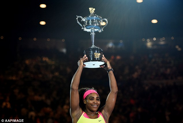 Chức vô địch thứ 6 ở Úc mở rộng hoàn toàn xứng đáng cho Serena.