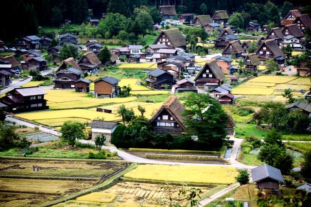Ngôi làng cổ xinh đẹp này cũng chính là nơi tác giả Fujiko Fujio sáng tác những tập đầu tiên của bộ truyện tranh Doremon nổi tiếng. Năm 1995, làng Shirakawa được biết đến nhiều hơn khi UNESCO công nhận là Di sản văn hóa Thế giới. (Ảnh: Sakura Chihaya)