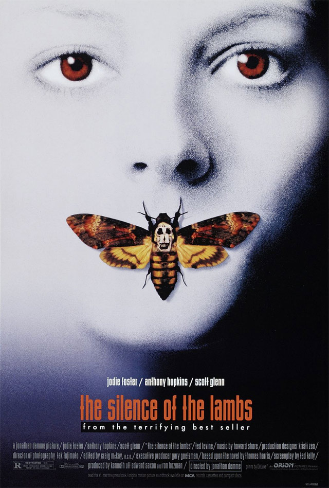 Bộ phim The Silence Of The Lambs.
