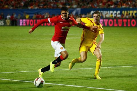 Chris Smalling mới là vua tốc độ tại Man Utd