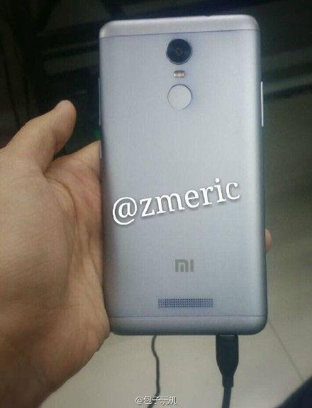 Redmi Note 2 được tích hợp cảm biến vân tay ở mặt sau?