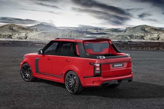 Chiếc SUV hạng sang của Anh Quốc Range Rover Supercharged 2015 được thiết kế thùng hàng phía sau