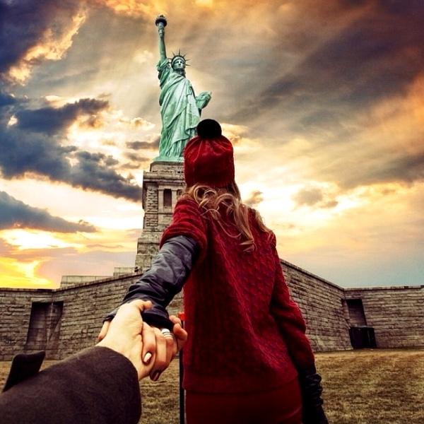 Tượng Nữ thần Tự do, Mỹ