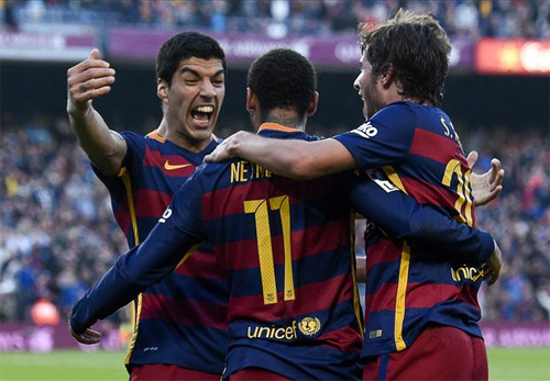 Dù thiếu vắng Messi nhưng Barcelona vẫn đang thi đấu cực kỳ thành công