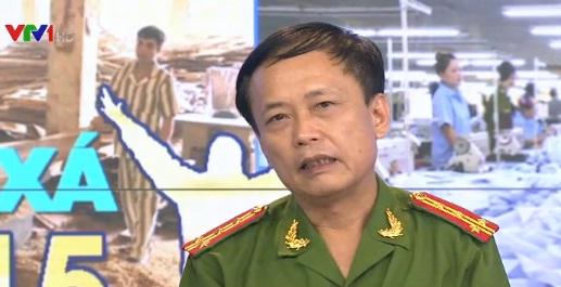 Đại tá Ngô Đức Hưng - Phó Cục trưởng Cục C86, Tổng cục 8, Bộ Công an.