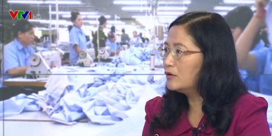 Bà Nguyễn Thị Hải Vân – Cục trưởng Cục việc làm, Bộ Lao động - Thương binh và Xã hội.