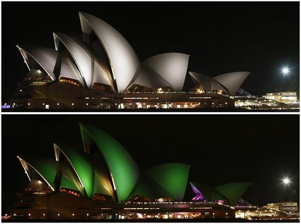 Nhà hát Opera ở Sydney.