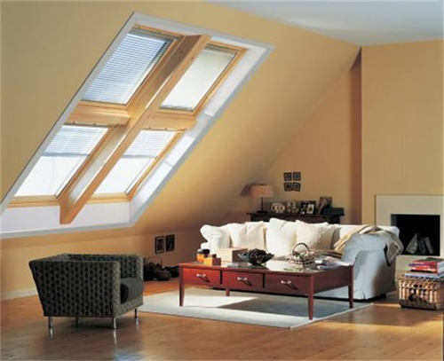 Tầng áp mái trong nhà có thể trở thành không gian cho bạn nghỉ ngơi thoải mái.